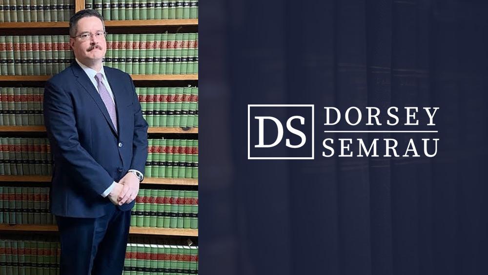 Dorsey & Semrau Announces Promotion of Edward Pasternak to Senior Associate